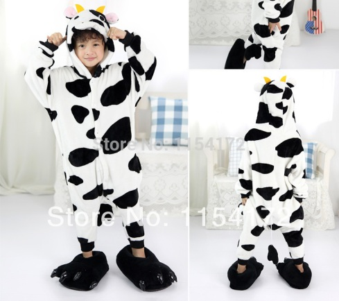 -font-b-Kids-b-font-font-b-Cow-b-font-anime-onesies-Pyjamas-Cartoon-Animal